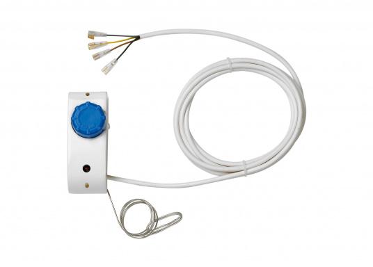 Der L-Verdampfer VD-04 ist für Kühlrauminhalte bis max. 130 bzw. max. 170 Liter bei 35 mm bzw. 50 mm PU-Isolierung geeignet. Vertikaler oder horizontaler Einbau möglich.  (Bild 2 von 2)
