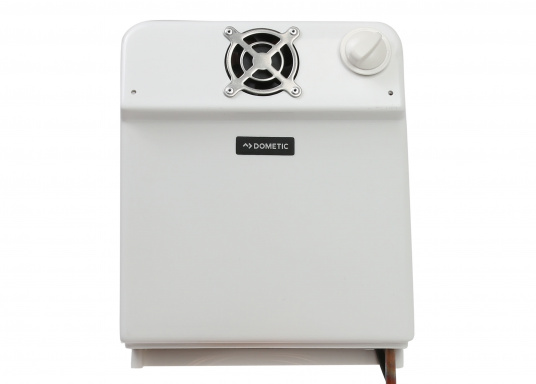 Der Umluftverdampfer ist für Kühlboxen und Kühlschränke geeignet. Er wurde speziell für hohe Umgebungstemperaturen und für Kühlrauminhalte bis max. 200 Liter bei 35 mm bzw. 250 Liter bei 50 mm PU-Isolierung konzipiert.