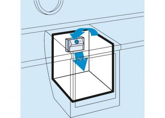 Schnelle Abkühlung garantiert! Dieser Lamellenverdampfer mit Umluftbetrieb wurde spezielle für Tiefkühlung konzipiert. Geeigent für Kühlboxen und Kühlschränke mit einem Kühlrauminhalt bis max. 130 Liter bzw. 200 Liter.  (Bild 2 von 2)