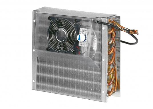 Schnelle Abkühlung garantiert! Dieser Lamellenverdampfer mit Umluftbetrieb wurde spezielle für Tiefkühlung konzipiert. Geeigent für Kühlboxen und Kühlschränke mit einem Kühlrauminhalt bis max. 130 Liter bzw. 200 Liter.