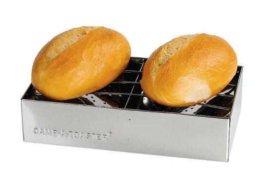 Duftend heiße, knusprige Brötchen, eine frische Toastscheibe - so gelingt das Frühstück an Bord! Der Edelstahl-Aufsatz kann auf jeden Kocher aufgesetzt werden. Sogar auf einem Grill können Sie den Aufsatz verwenden.