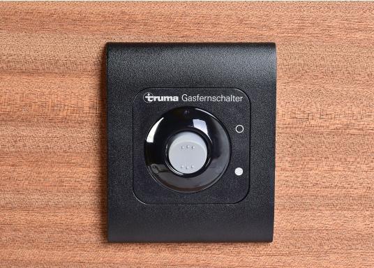 Pour fermer les bouteilles de gaz en pressant seulement un bouton ! La valve ferme la source non utilisée.  (Image 6 de 7)