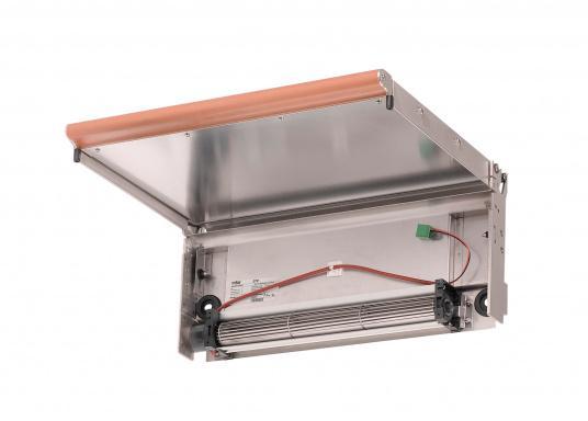Eine formschöne und optimale Alternative zu einer Heizung. Mit den Heizgebläsedeckeln können Sie ihren Kocher ganz einfach in eine Kabinenheizung verwandeln. Passend für dieWallas Dieselkocher85DT /85DU.  (Bild 3 von 3)