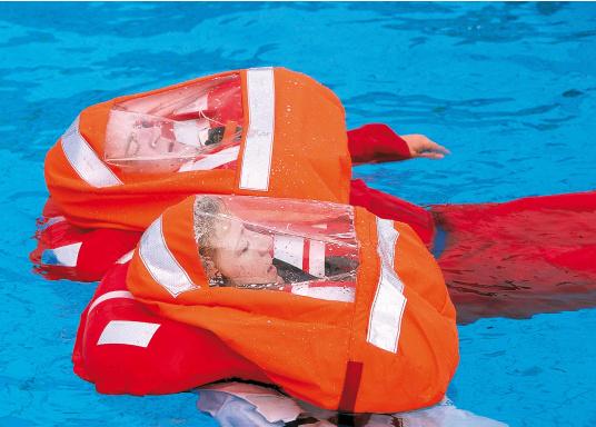 SECUMAR Zubehör Pack, passend für die Rettungswesten BOLERO 275 und BOLERO 275 DUO PROTECT. Inhalt: Nylon Sprayood + CFX II Leuchte.  (Bild 2 von 3)