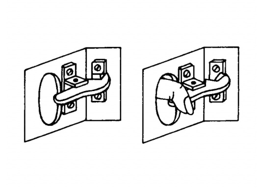 Teakringe, geeignet als Ergänzung zu Fingerschnappern. Erhältlich in zwei Größen.  (Bild 4 von 5)