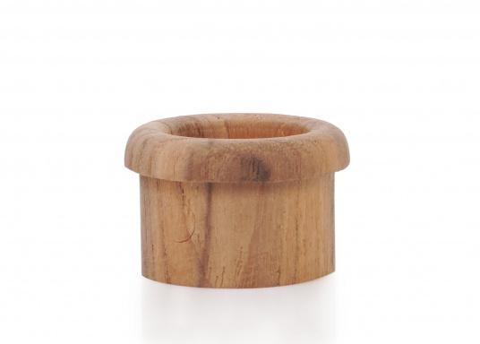 Teakringe, geeignet als Ergänzung zu Fingerschnappern. Erhältlich in zwei Größen.  (Bild 2 von 5)
