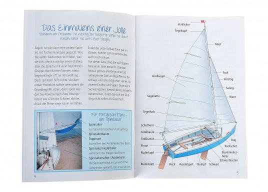 Maritimes Basiswissen im Pocket-Format! Mit vielen Fotos und Zeichnungen wird leicht verständlich das Einmaleins des Segelns vermittelt. (Bild 2 von 2)