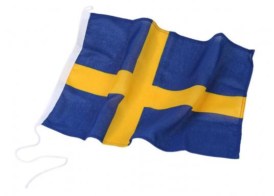 Pavillon Suédois. Tissus nylon de haute qualité sérigraphié. Facile à fixer.   (Image 2 de 2)