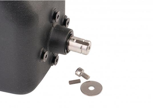 L'unité mécanique rotative pour autopilotes Raymarine convient aux bateau à moteur et aux voiliers avec une barre à drosses ou rod. Cette unité de puissance performante est silencieuse.  (Image 2 de 6)
