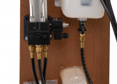 Vérins hydrauliques pour autopilotes
