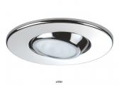 LED Ceiling Light YOKO / stainless steel, polished