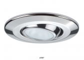 LUCILLE LED Ceiling Light / Stainless steel, polished