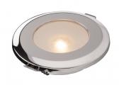 Plafoniera a LED - MIRIAM / acciaio inox, lucido