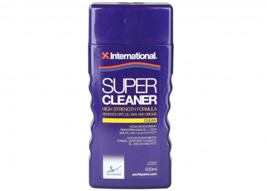 SUPER CLEANER ist ideal geeignet um Verunreinigungen zu entfernen bevor eine Fläche bearbeitet wird.