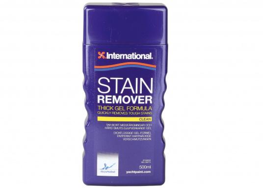 STAIN REMOVER ist ideal zum Entfernen von hartnäckige Flecken und Verunreinigungen geeignet. Anschließend kann die Fläche wie gewünscht bearbeitet werden.