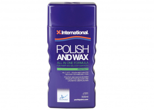 Protect brilliance against the elements, quickily and easily with POLISH and WAX. It contains polishing components and wax, which provide brilliance and protection in one application.