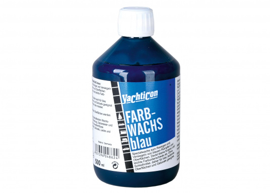 Lang anhaltender Oberflächenschutz! Spezialwachs, geeignet zum Reinigen und Versiegeln blauer Rümpfe und anderer GFK-Flächen.