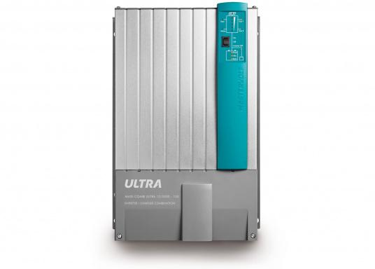 Der MASS COMBI ULTRA fasst die fortschrittlichste Technik (V6 Hochfrequenz Technologie) in einem kompakten Paket zusammen. Er vereint Sinus-Wechselrichter und Batterie-IUOU-Ladegerät in einem Gehäuse. Nennspannung: 12 V. Empfohlene Batteriekapazität: 300 - 900 Ah.
