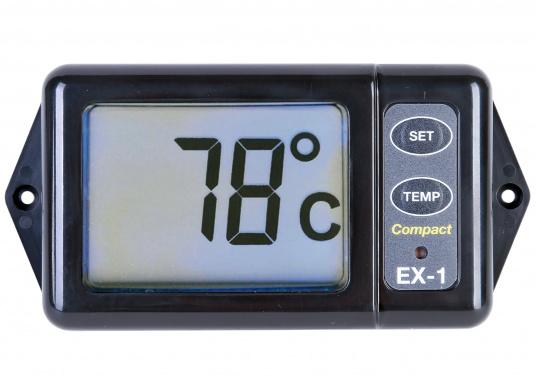 Die Anzeige zeigt kontinuierlich die Abgastemperatur an. So hat man die Temperatur des Motors immer im Blick und kann eingreifen, bevor große Schäden am Motor entstehen. (Bild 6 von 8)