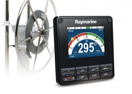 Der EV-100 Radpilot ist ein perfekter Autopilot für radgesteuerte Yachten bis 7,5 t Verdrängung, ideale Bootslänge bis 12 m.