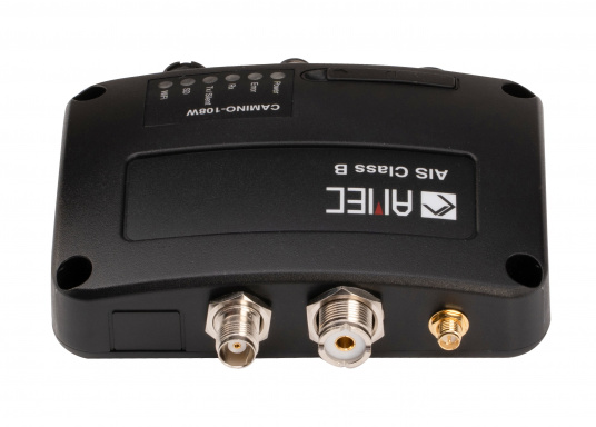The new generation of AIS-B transponder / receiver: optimum reception and transmission performance in a compact housing.  (Image 3 of 4)