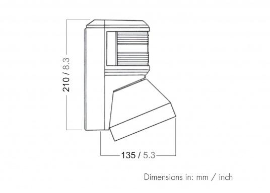 Eine bewährte Kombination von aqua signal. Einfache Montage. Geeignetfür Fahrzeuge bis 20 m Länge.  (Bild 7 von 7)