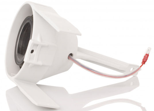 Suitable for any mast profile! Thanks to the flexible mounting straps, this floodlight fits any mast profile. Power LEDs with lens ensure optimum illumination of the deck.  (Image 4 of 8)
