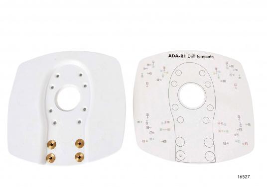 Ideal geeignet für Montage auf Gerätebügel oder Aufbau. Aluminium weiß beschichtet. Lieferbar in verschiedenen Ausführungen.  (Bild 6 von 22)