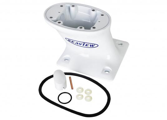 Ideal geeignet für Montage auf Gerätebügel oder Aufbau. Aluminium weiß beschichtet. Lieferbar in verschiedenen Ausführungen.  (Bild 5 von 22)