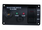 Interrupteur de pompe 12 V avec alarme