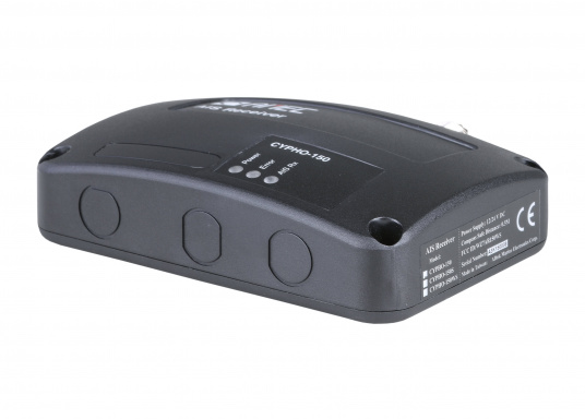 Your entry to a safe voyage withAIS! The dual channel AIS receiver CYPHO150 with excellent receiving performance.  (Afbeelding 2 of 3)