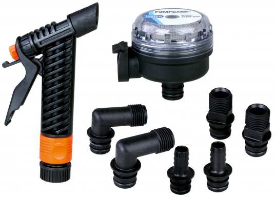 Leistungsstark und seewasserbeständig: Die Deckwaschpumpe PAR-Max von JABSCO. Die Pumpe ist selbstansaugend und hat eine Förderleistung von 19 l / min.  (Bild 2 von 2)