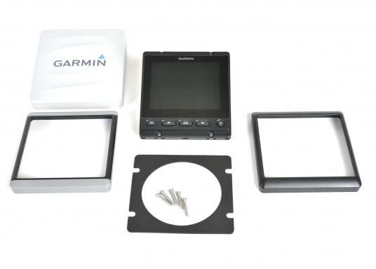 """Das brandneue MultifunktionsinstrumentGMI20 von GARMIN kann Daten wie Logge, Echolot, Temperatur, Wind, GPS-Daten, Tankinhalt und viele andere anzeigen. Ausgestattet mit einem 4"""" Farbdisplay ist es auch aus der Distanz gut abzulesen.  (Bild 4 von 11)"""