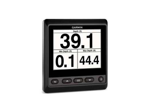 """Das brandneue MultifunktionsinstrumentGMI20 von GARMIN kann Daten wie Logge, Echolot, Temperatur, Wind, GPS-Daten, Tankinhalt und viele andere anzeigen. Ausgestattet mit einem 4"""" Farbdisplay ist es auch aus der Distanz gut abzulesen.  (Bild 6 von 11)"""