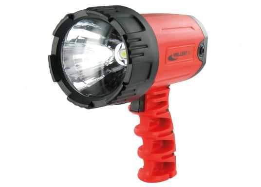 TL600, ein starkes Stück Scheinwerfer in Ihrer Hand gibt Ihnen mit seinerlichtstarken LEDüber Stunden Autonomie.