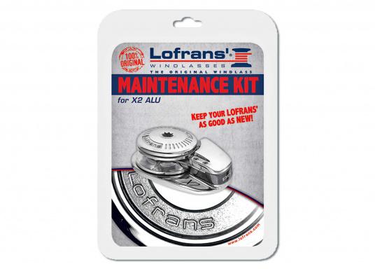 Halten Sie Ihre Lofrans Winde instand! Ersatzteilkits für Lofrans Winden enthalten alle notwendigen Verschleißteile wie Schrauben, Dichtungen, Splinte, Wellenkeite etc.