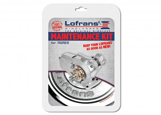 Maintenance and Spare Part Kit for TIGRES Winch