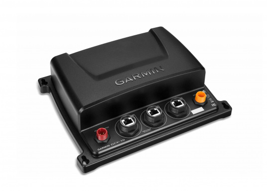 Das Black Box Sonar GCV™10 bringt Down- und Sideview Technologie auf Ihr kompatibles GARMN® echoMAP™ oder GPSMAP®. Es gibt ein ultraklares, hochauflösendes Bild von Objekten, Strukturen und Fischen unter Wasser wieder. (Bild 2 von 6)