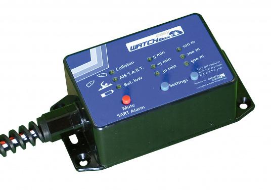 Die easyWATCHBOX verfügt über einen Batteriewächter / CPA und AIS-Sart Alarmgeber. Die easyWATCHBOX wird einfach in die Datenverbindung vom AIS Gerät zum Kartenplotter oder PC integriert.