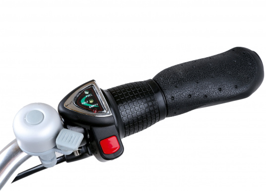 Das neue Premium Elektro-Bike BLIZZARD von SEATEC bietet neueste 36 V Technologie mit intuitiver Drehgas-Steuerung.  (Bild 12 von 20)
