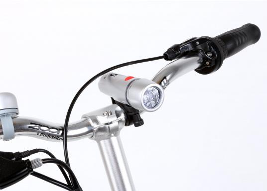 Das neue Premium Elektro-Bike BLIZZARD von SEATEC bietet neueste 36 V Technologie mit intuitiver Drehgas-Steuerung.  (Bild 11 von 20)