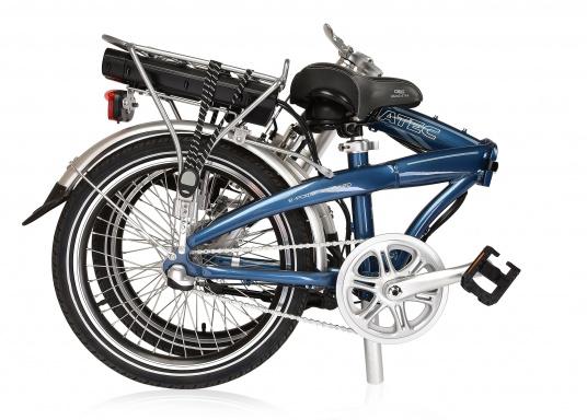 Das neue Premium Elektro-Bike BLIZZARD von SEATEC bietet neueste 36 V Technologie mit intuitiver Drehgas-Steuerung.  (Bild 3 von 20)