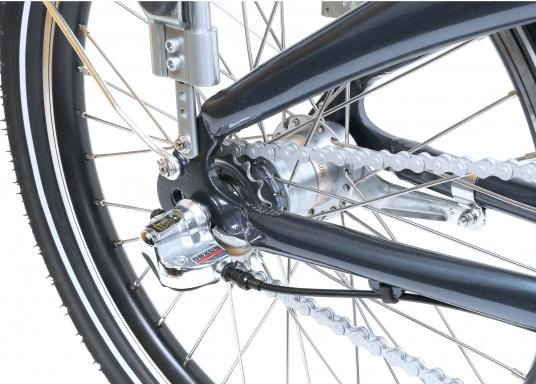 Das neue Premium Elektro-Bike BLIZZARD von SEATEC bietet neueste 36 V Technologie mit intuitiver Drehgas-Steuerung.  (Bild 16 von 20)