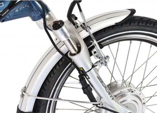 Das neue Premium Elektro-Bike BLIZZARD von SEATEC bietet neueste 36 V Technologie mit intuitiver Drehgas-Steuerung.  (Bild 7 von 20)