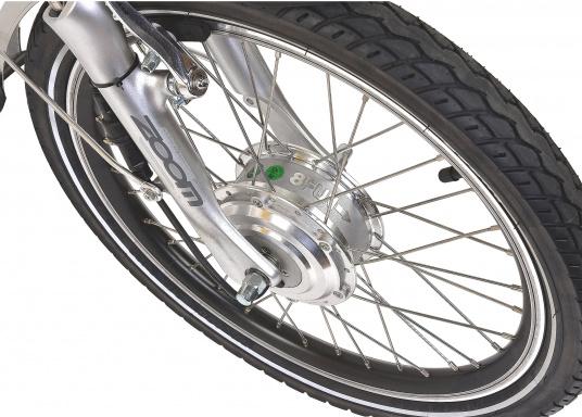 Das neue Premium Elektro-Bike BLIZZARD von SEATEC bietet neueste 36 V Technologie mit intuitiver Drehgas-Steuerung.  (Bild 8 von 20)
