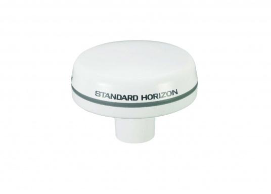 Aktive 50-Kanal GPS Antenne von STANDARD HORIZON. Die Antenne ist WAAS / EGNOS fähig.