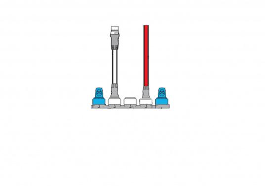 Le Starter Kit SeaTalk NG Raymarine est parfait pour intégrer votre instrumentSeaTalkng compatible Raymarine au réseau.  (Image 3 de 6)
