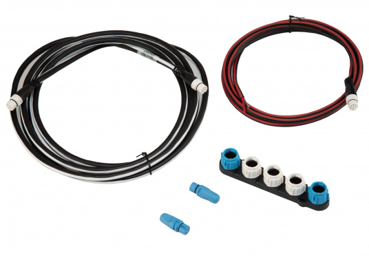 The SeaTalkng Starter Kit is the perfect way to integrate your SeaTalkng compatible Raymarine product into the network.