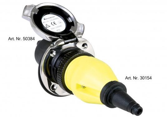MP16-Kupplungsstecker für Landstrom-Übernahmedosen von MASTERVOLT oder anderen Anbietern.  (Bild 2 von 2)