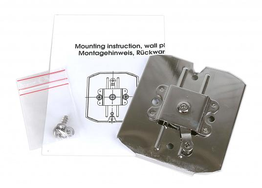 With this cover plate you can mount your navigation lights onseries 40,43and 50 brackets.  (Image 2 of 2)
